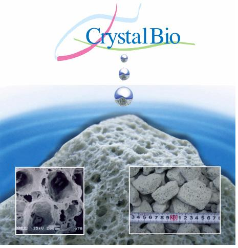 Crystal Bio vijver filtermateriaal