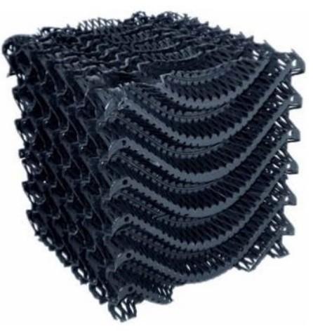 Filterblokken kunststof vijverfiltermaterialen vijver for Kunststof vijvers
