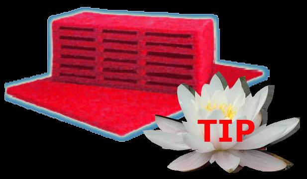 Magoi Rode Filtermatten
