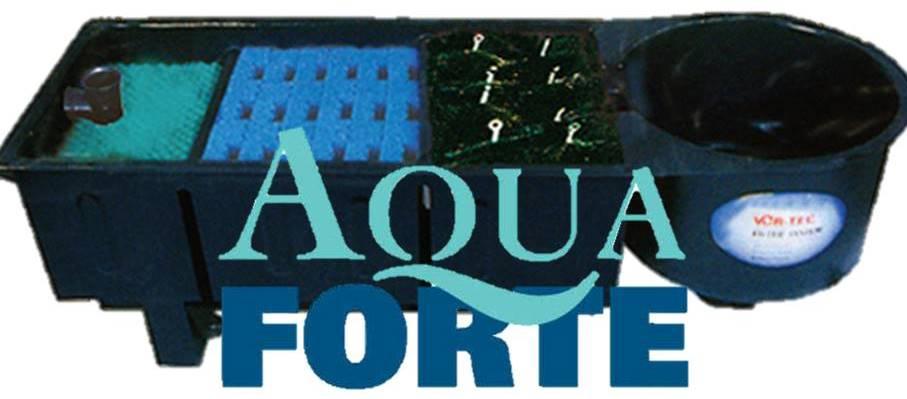 Aqua Forte Meerkamerfilters