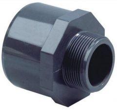"PVC PUNTSTUK 25/32 MM X 1"" DRAAD"