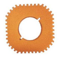 VERVANGSPONS / FILTERSCHUIM filtoclear 20.000-30.000 Oranje