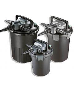 AquaForte drukfilter CBF-4000 (PL 9 watt UV-C) met Backwash Functie