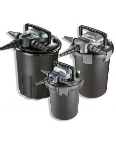 AquaForte drukfilter CBF-8000 (PL 11 watt UV-C) met Backwash Functie