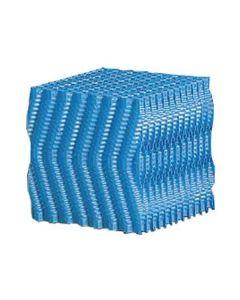Filterblok honingraat blauw 120 x 30 x 30 cm