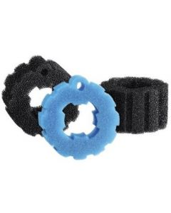 SET VERVANGSPONzen / FILTERSCHUIM BIOPRESS 4000-5000 (2x zwart,1x blauw)